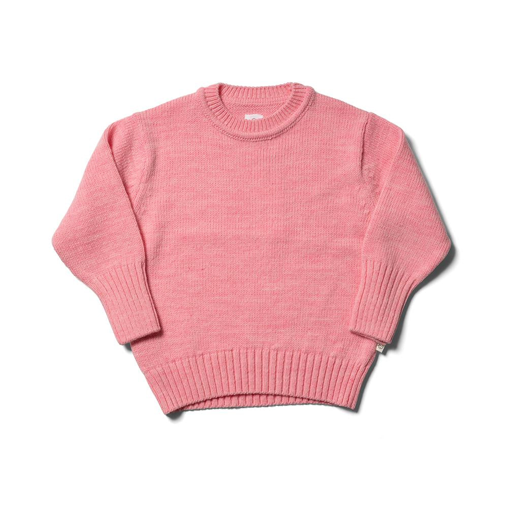 Tom Bo Jumper - Mallow Pink