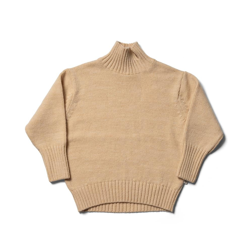 Tom Bo Roll Neck - Buttermilk