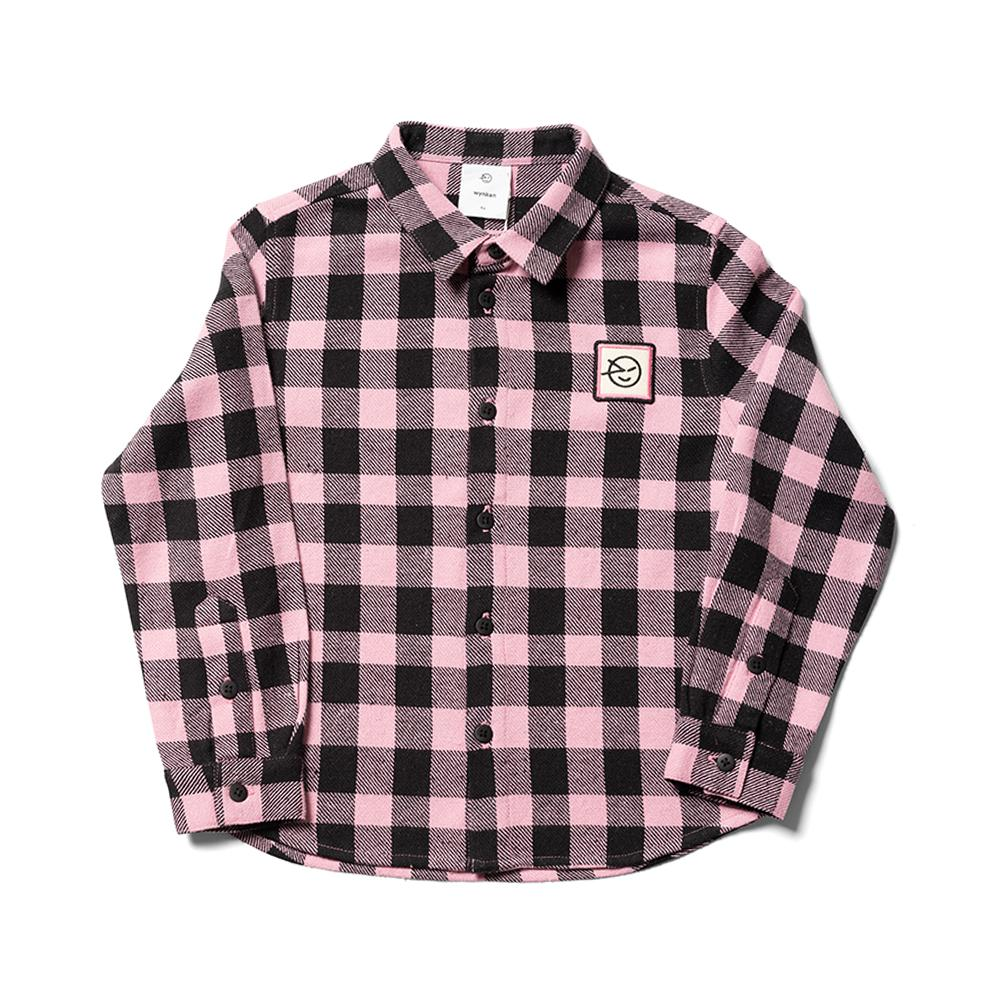 Apache Shirt - Mallow Pink Check