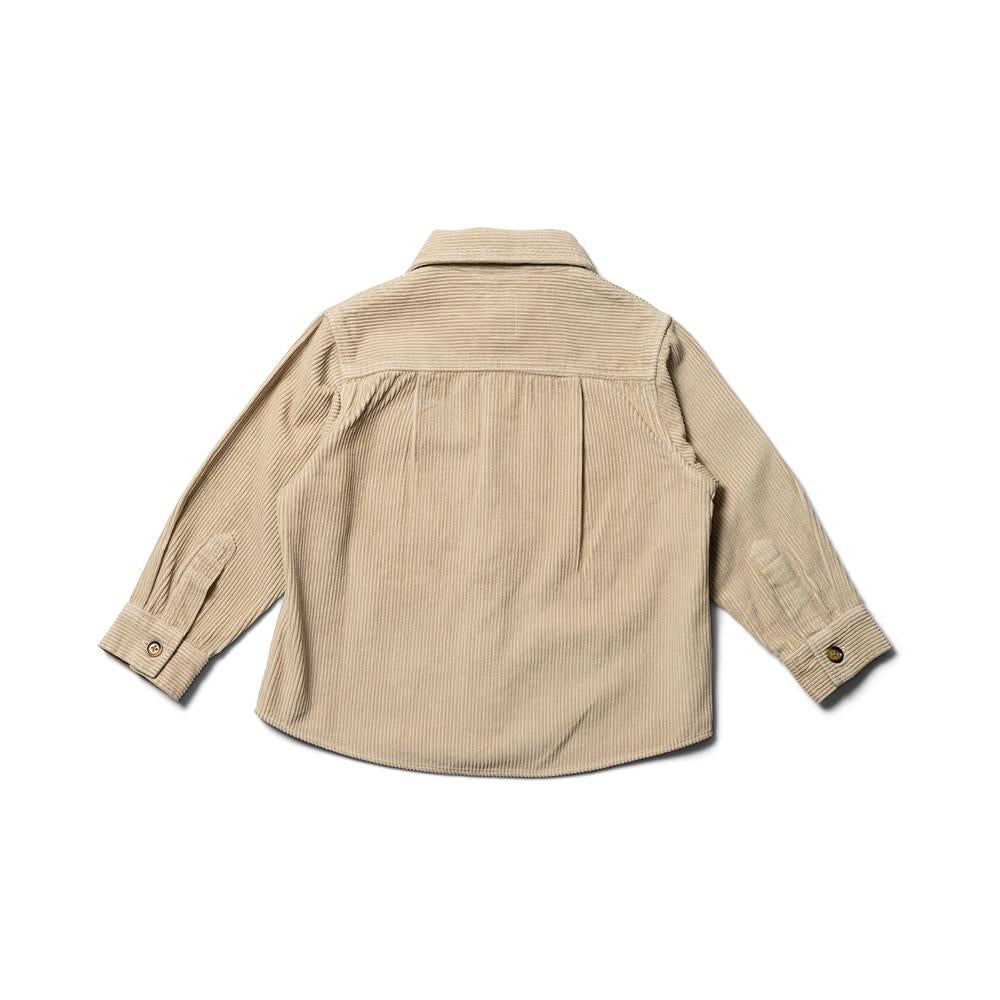 Overshirt - Light Sand Jumbo Cord