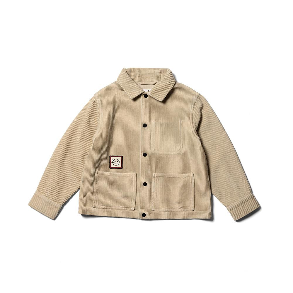 Hancock Cord Jacket - Light Sand Jumbo Cord