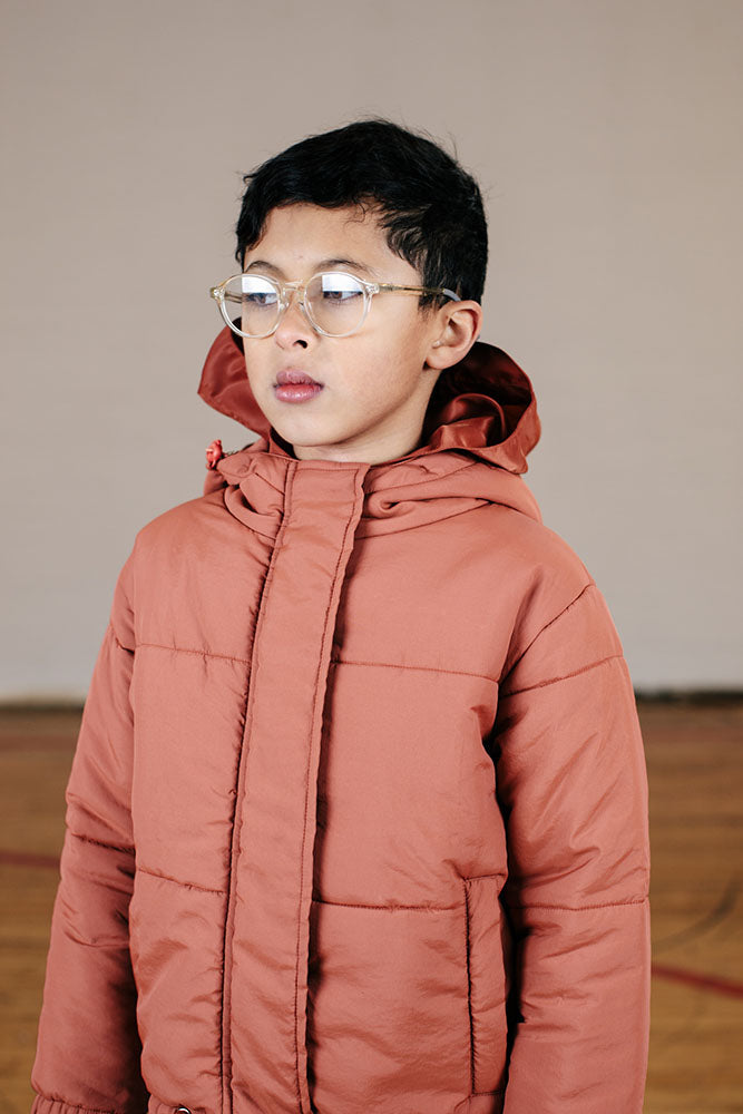 Breakers Puffa Jacket - Rust