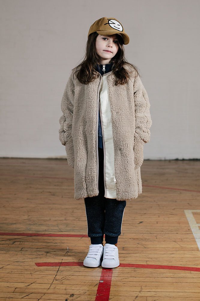 B-Girl Coat - Stone Fur