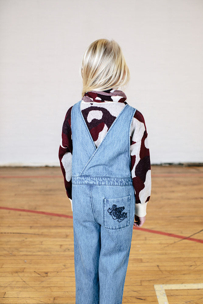 Dance Dungaree - Bleached Denim