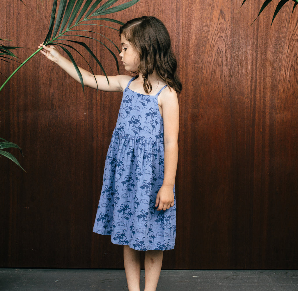 Fara Dress - Night Blue