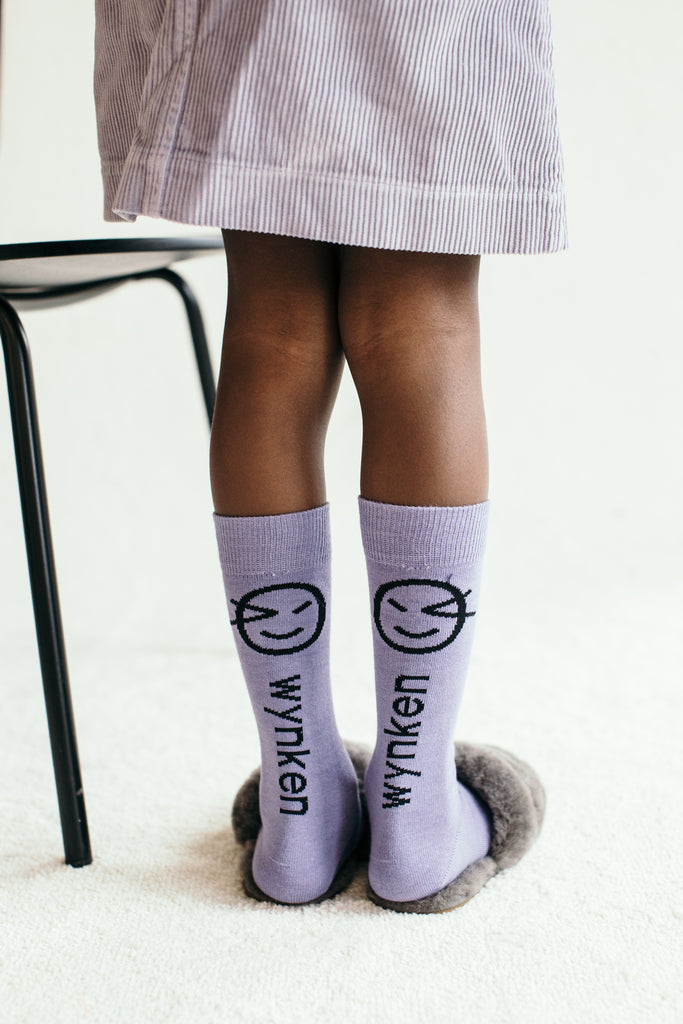 Wynken Knee Sock -Verbena