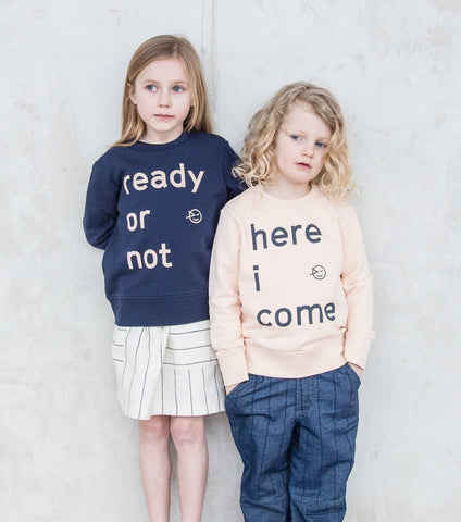 Ready Or Not Sweat - Navy