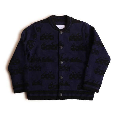 Wave Bomber - Black/Navy