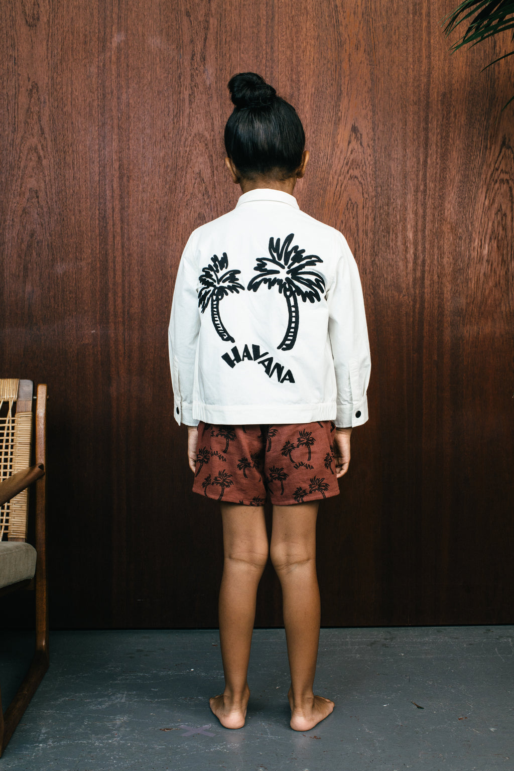 Palms Jacket - Ecru