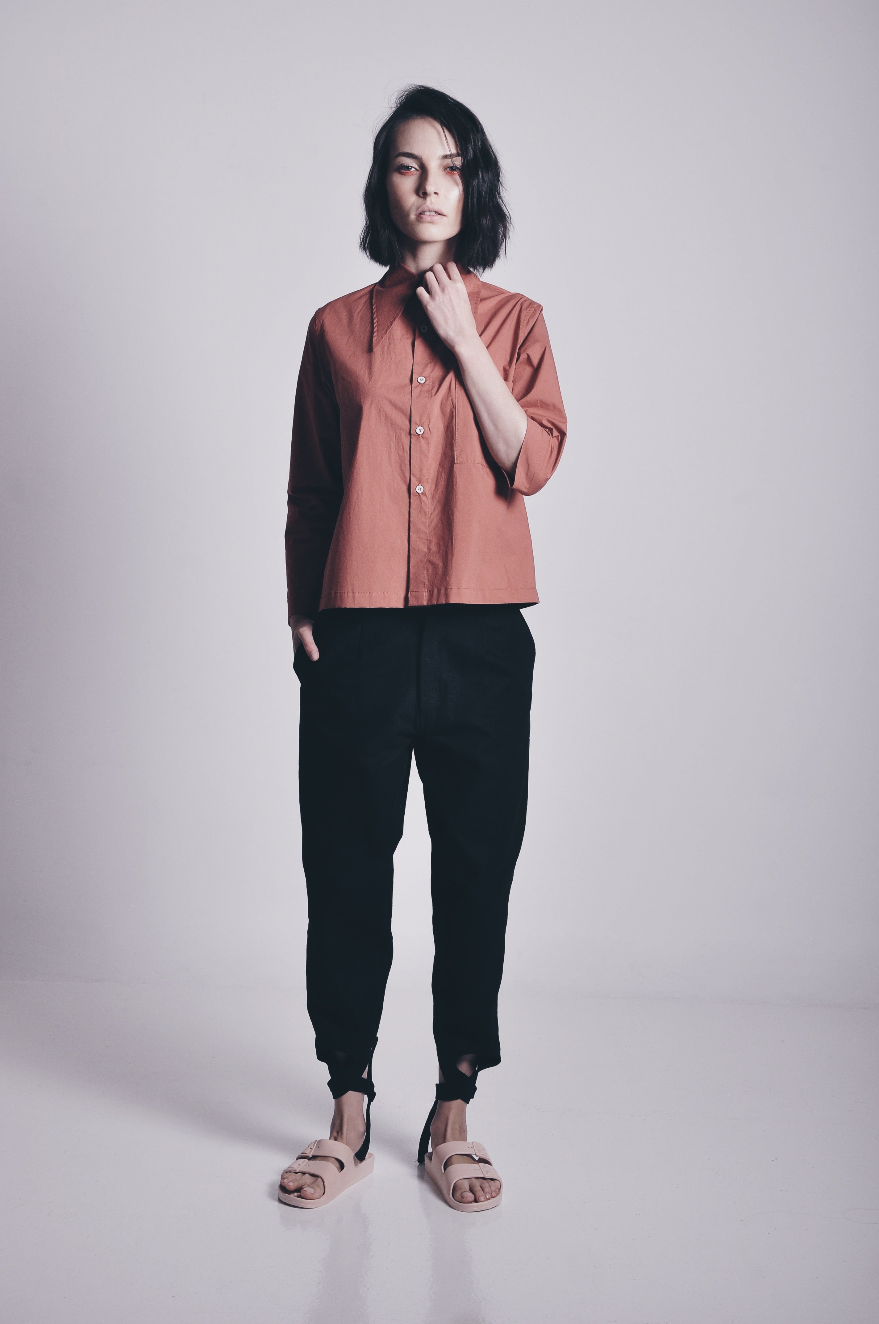 SIENNA ASYMMETRICAL SHIRT