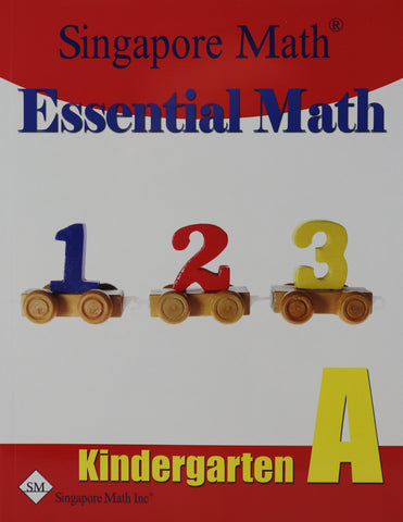Singapore Math® Essential Math Kindergarten A
