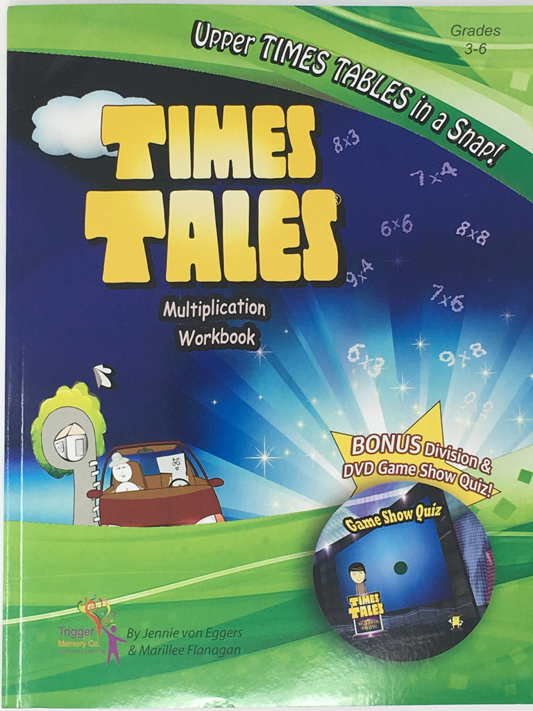 Times Tales Workbook with DVD