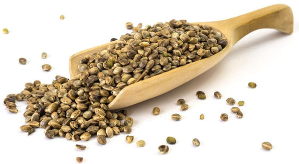 Raw Organic Hemp Seeds - 1 Kg -