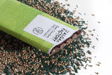 3 BIG BARS  -  Extra Dark Chocolate 70% with Hemp Seeds & Spirulina