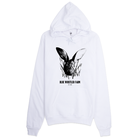 """Pasture Raised"" Hoodie White"