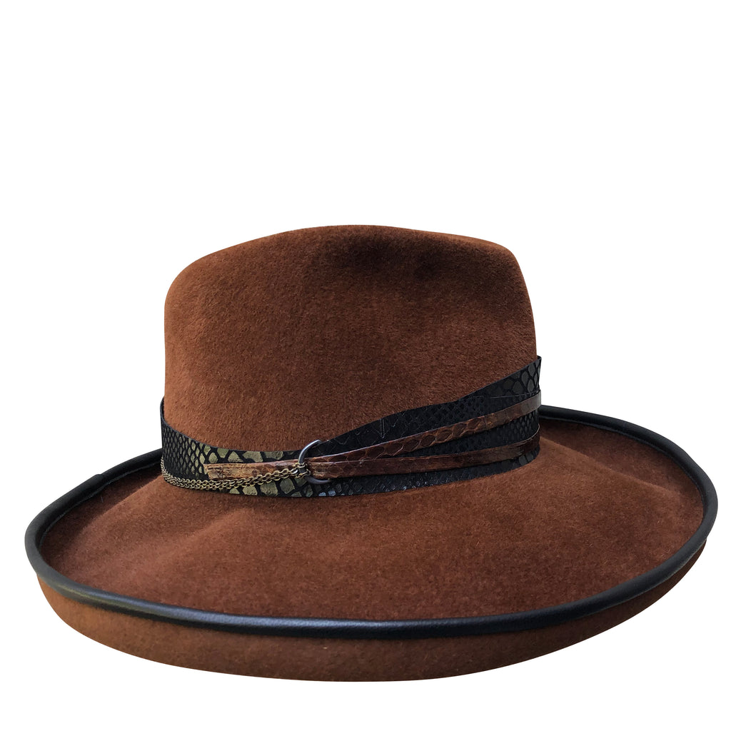 Right side of hat