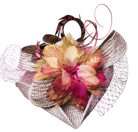 Favourite - Tricorne Fascinator