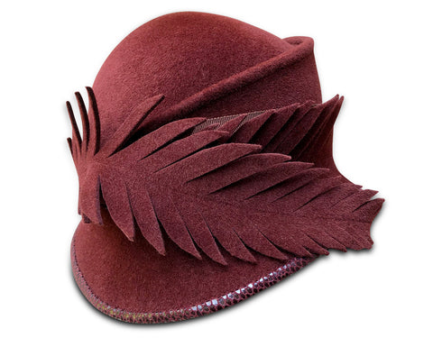 Birch - Burgundy Cloche