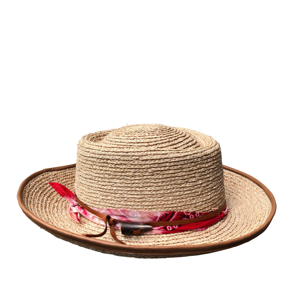 Gauguin - Raffia Braid Travel Hat