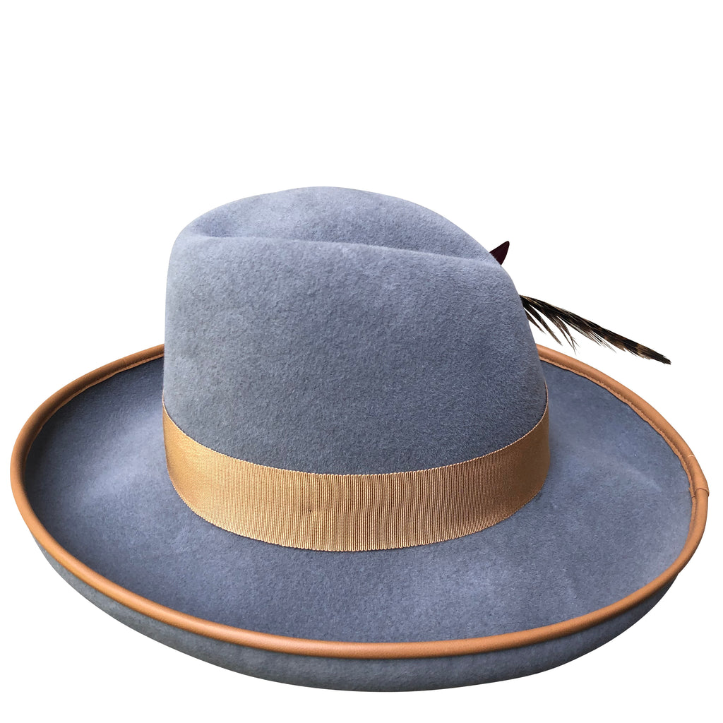 Left side of Hat