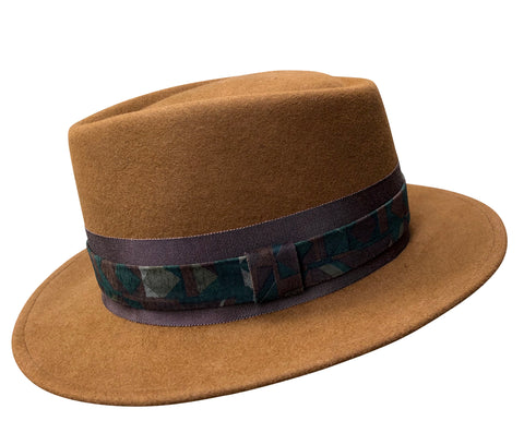 Louis - Vintage Crown Fedora