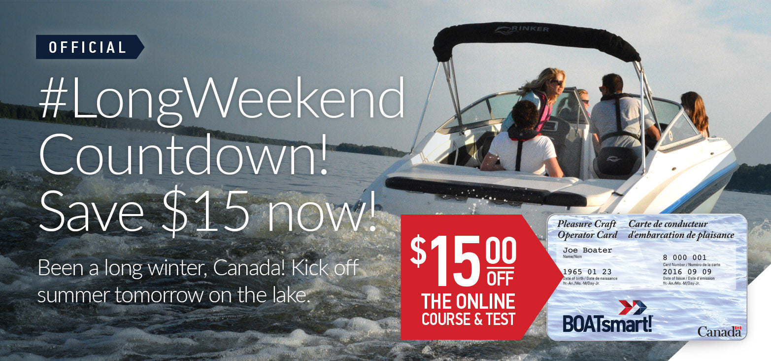 May Long Weekend $15 Off - Last Chance