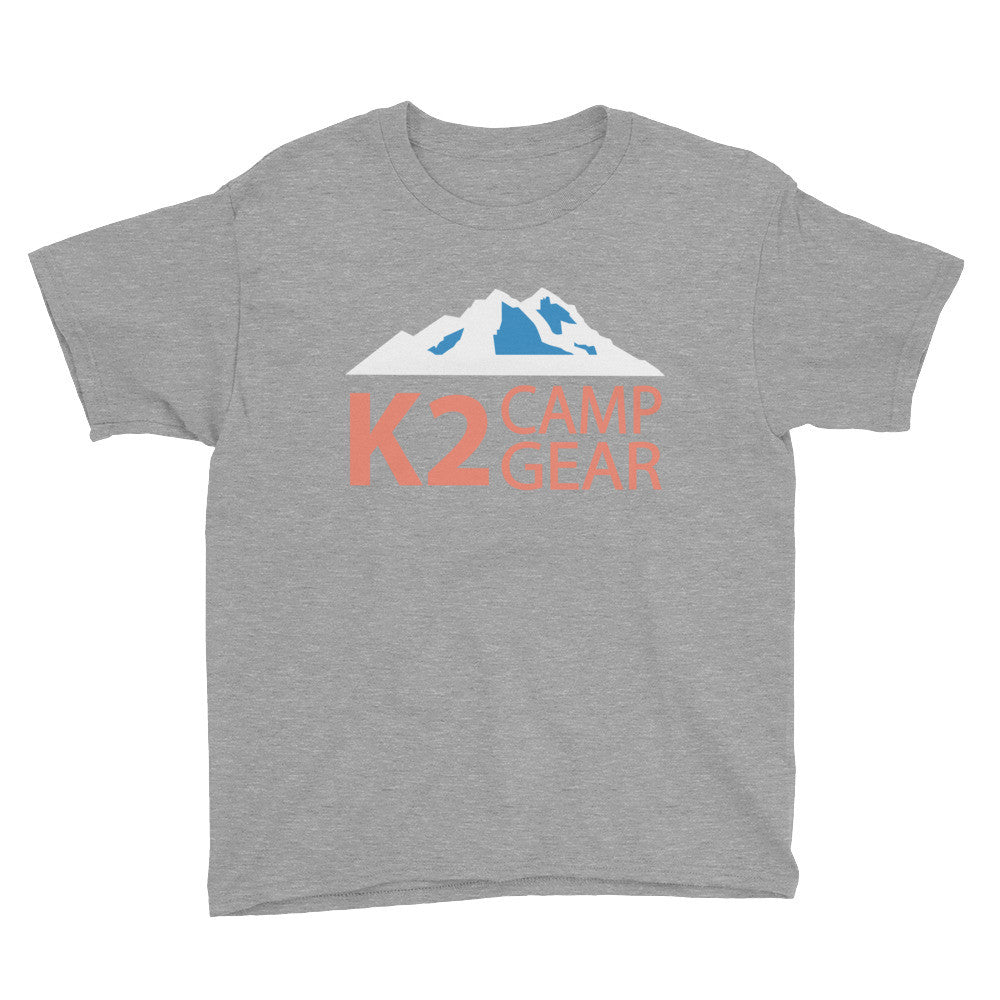 Youth Short Sleeve T-Shirt - K2campgear - 4