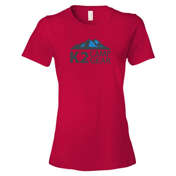 Women's short sleeve t-shirt - K2campgear - 13
