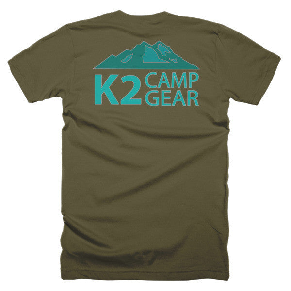 Short sleeve men's t-shirt - K2campgear - 18
