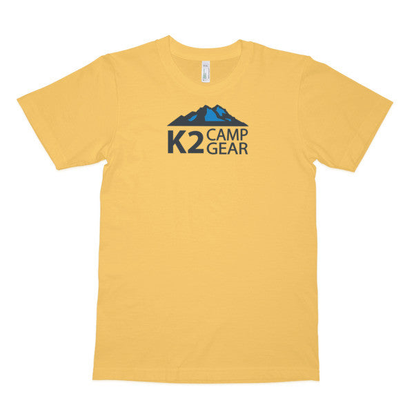 Men's short sleeve organic cotton t-shirt - K2campgear - 5
