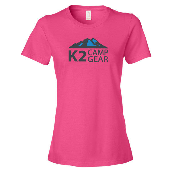 Women's short sleeve t-shirt - K2campgear - 12