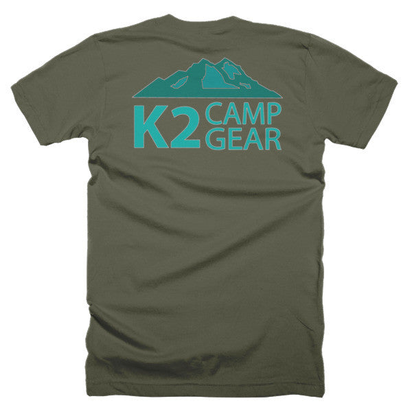 Short sleeve men's t-shirt - K2campgear - 19