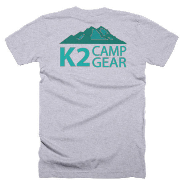 Short sleeve men's t-shirt - K2campgear - 22