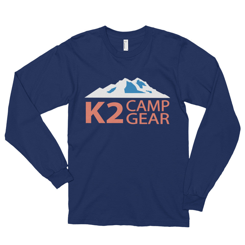 Long sleeve t-shirt (unisex) - K2campgear - 3