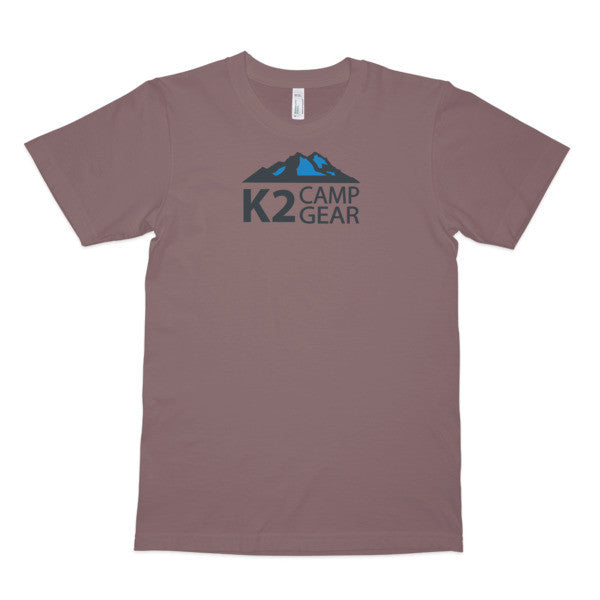 Men's short sleeve organic cotton t-shirt - K2campgear - 4