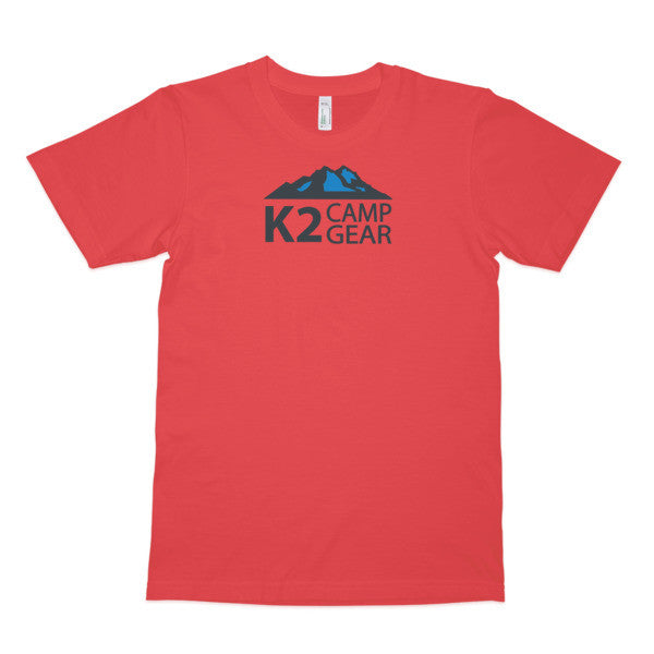 Men's short sleeve organic cotton t-shirt - K2campgear - 6