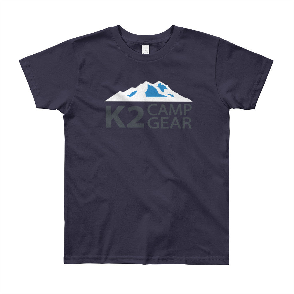 Youth Short Sleeve T-Shirt - K2campgear - 2