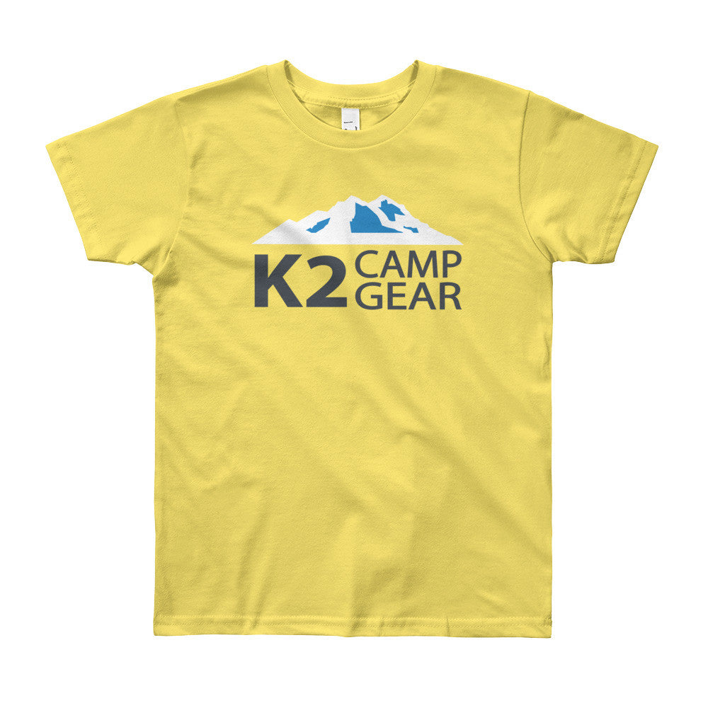 Youth Short Sleeve T-Shirt - K2campgear - 8