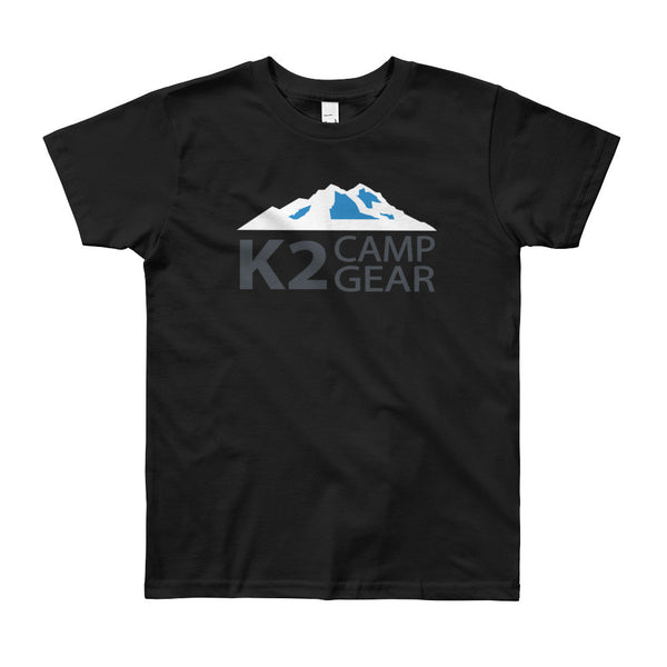 Youth Short Sleeve T-Shirt - K2campgear - 1