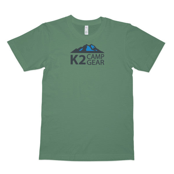 Men's short sleeve organic cotton t-shirt - K2campgear - 3