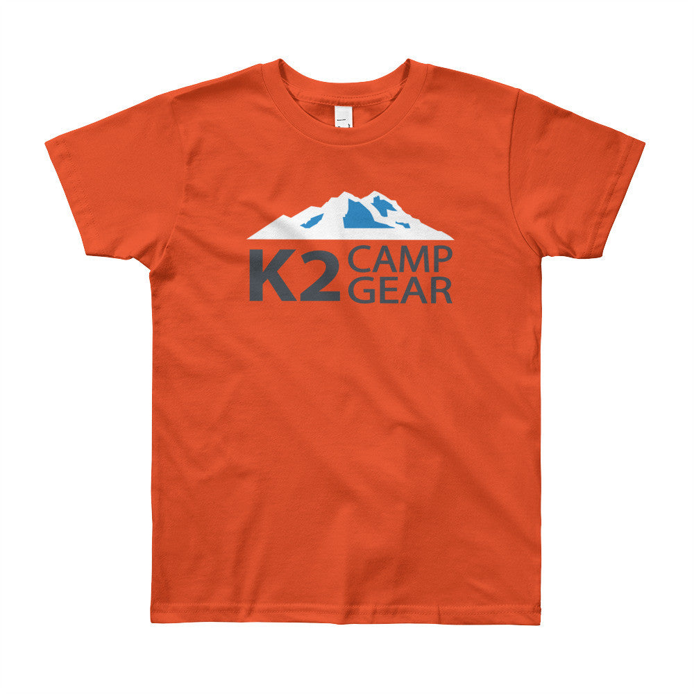 Youth Short Sleeve T-Shirt - K2campgear - 9