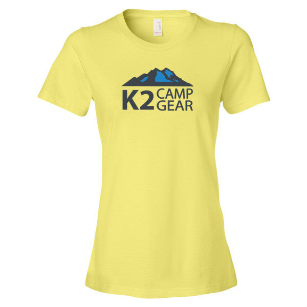 Women's short sleeve t-shirt - K2campgear - 8