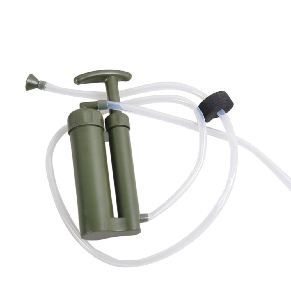 Portable Outdoor Water Filter Purify Pump Outdoor Survival - K2campgear - 2