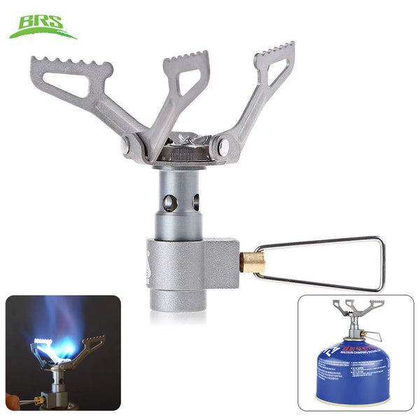 Ultra-light Camping Gas Stove Titanium Alloy Miniature - K2campgear - 2