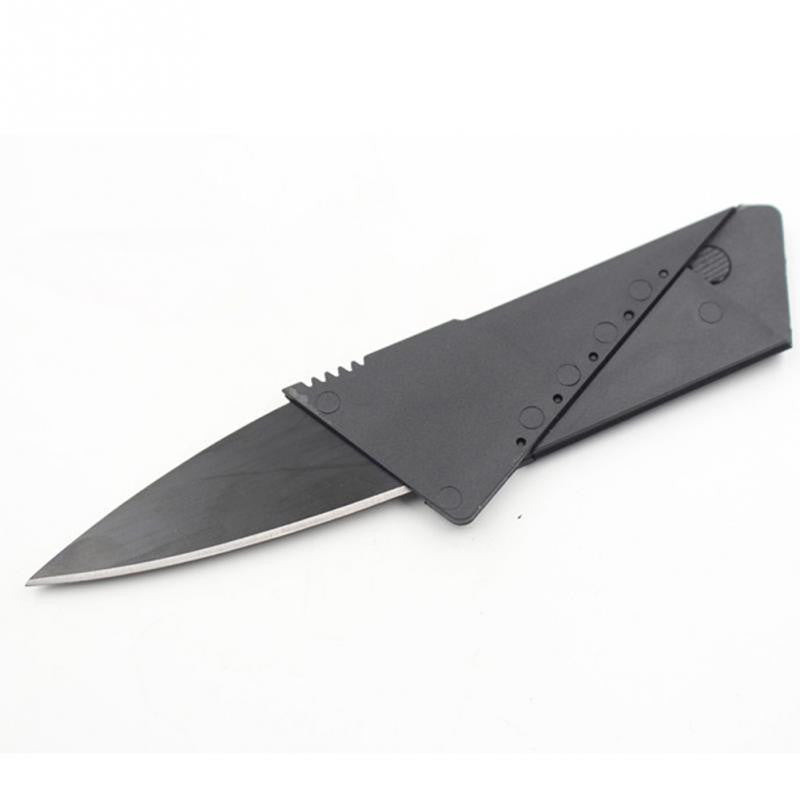 Mini Folding Blade Knife Wallet Size Folding Credit Card Tactical Knife - K2campgear - 4
