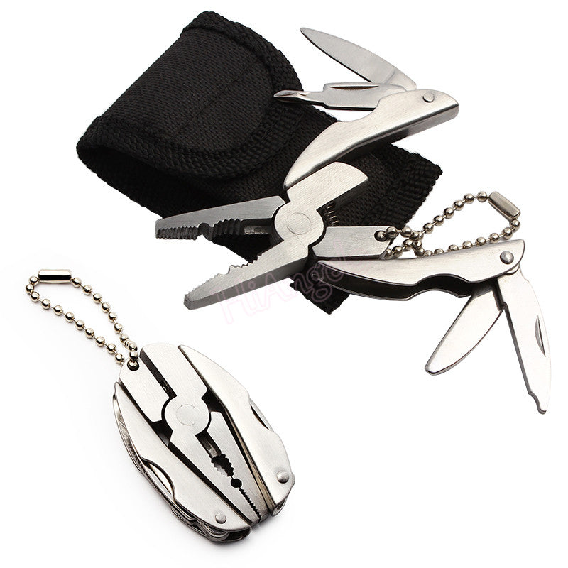 Stainless Steel Portable Mini Multifunctional Folding Pocket Plier Tool