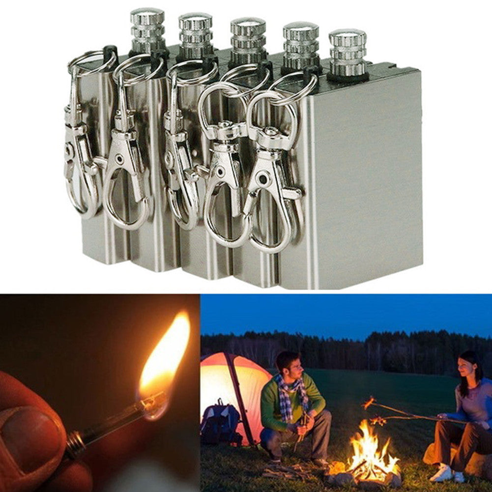 Emergency Fire Starter Flint Match Lighter Tool