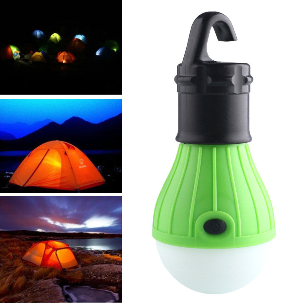 Soft Light Outdoor Hanging LED Camping Tent Light Bulb Fishing Lantern Lamp Wholesale free shipping - K2campgear - 1