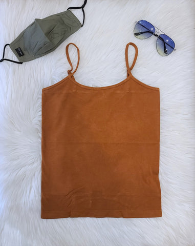 BAMBOO SHORT GINGER CAMI