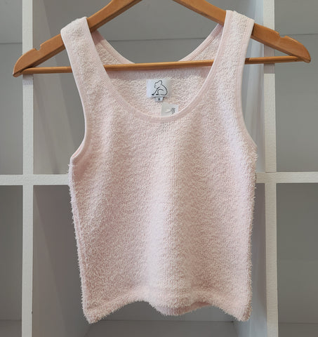 PEARL PLUSH TOWEL CROP TANK